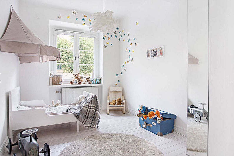Conception d'une chambre d'enfants pour un garçon de moins de 3 ans