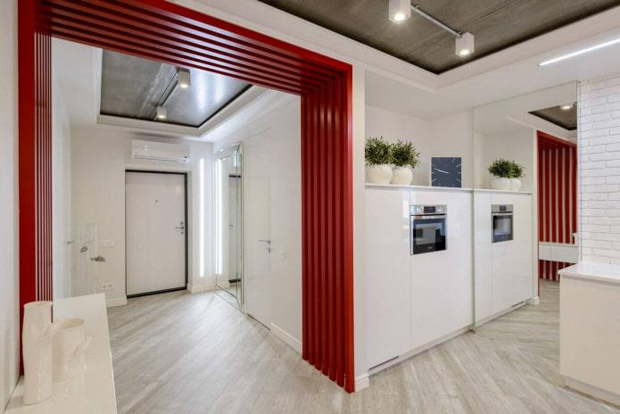 zonage des couloirs