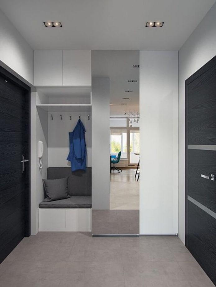 disposition des meubles dans le couloir