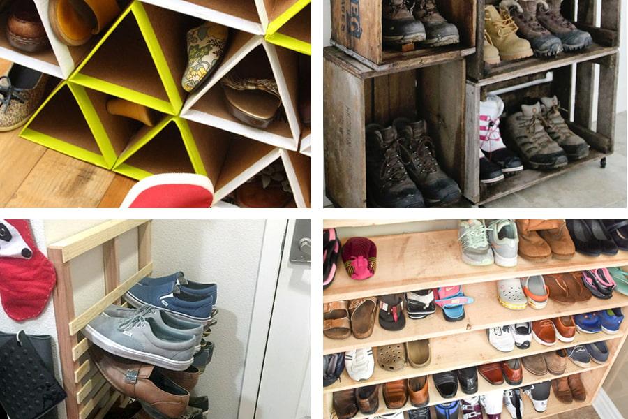 Une sélection de classes de maître sur la création d'un étagère à chaussures de vos propres mains