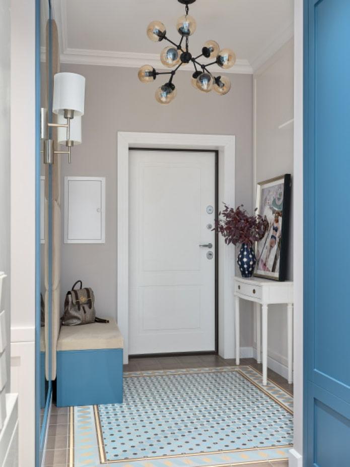 petit couloir carré