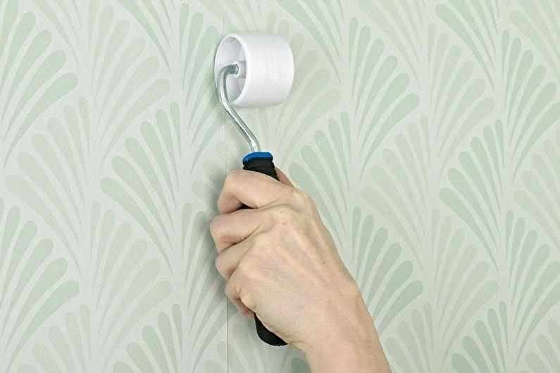 Coller le papier peint de vos propres mains, instructions étape par étape - Coller le papier peint