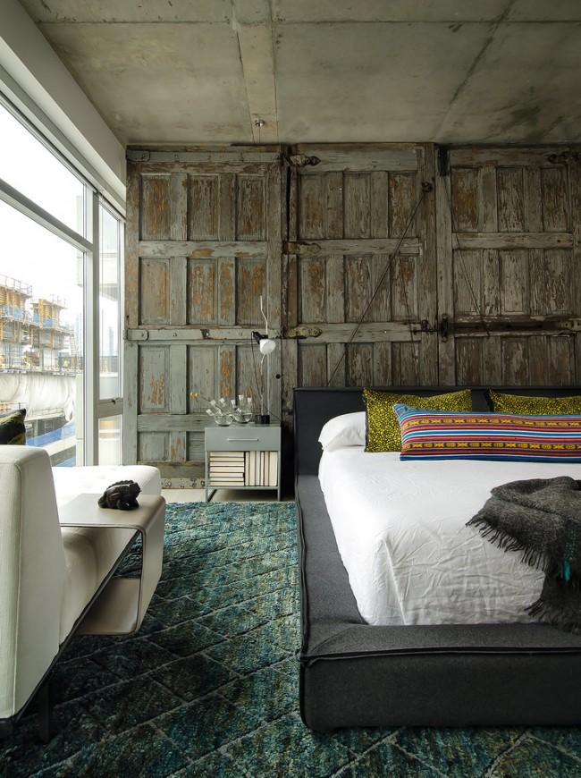 Une fusion de styles dans une spacieuse chambre panoramique