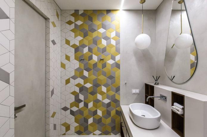 salle de bain en couleurs 2021