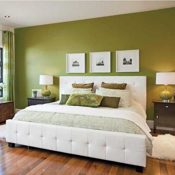 mur végétal dans la chambre