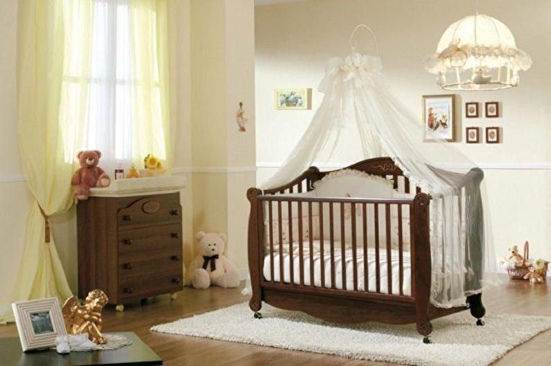Comment choisir un lit bébé pour nouveau-né - Matériaux
