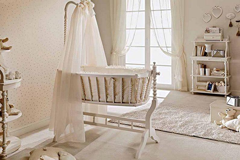 Types de berceaux pour nouveau-nés par conception - Berceau