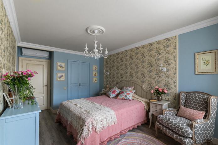 chambre de style provençal