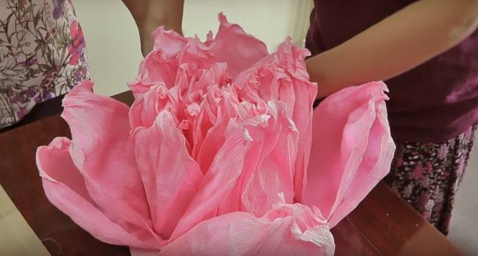Former une fleur