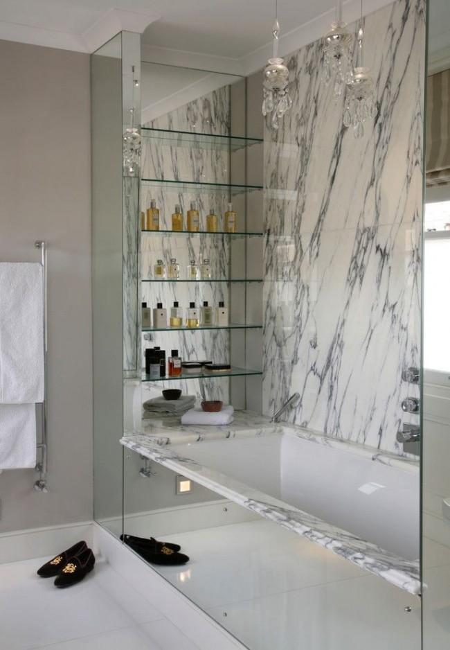 Écran miroir décoratif