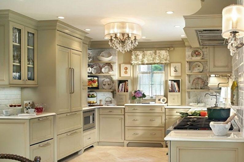 Lustre de cuisine de style classique