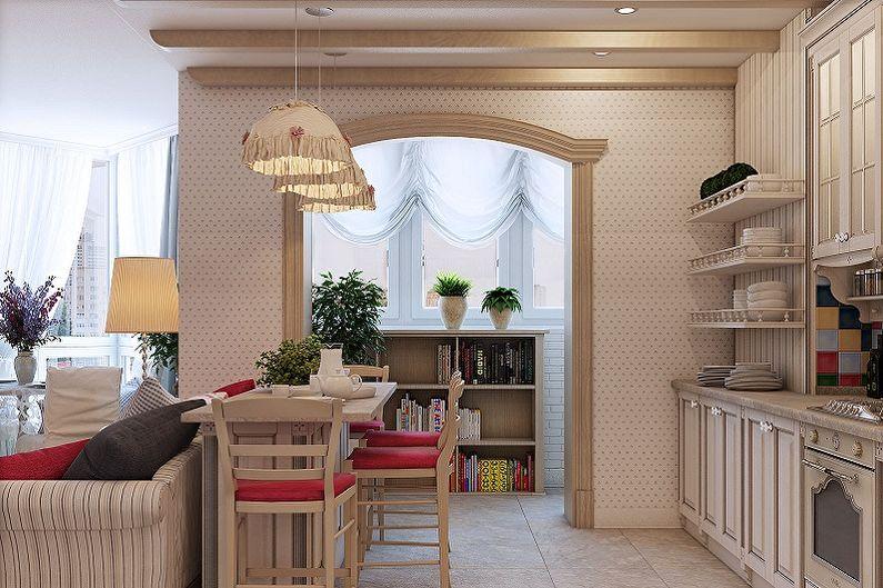 Lustre de cuisine de style provençal