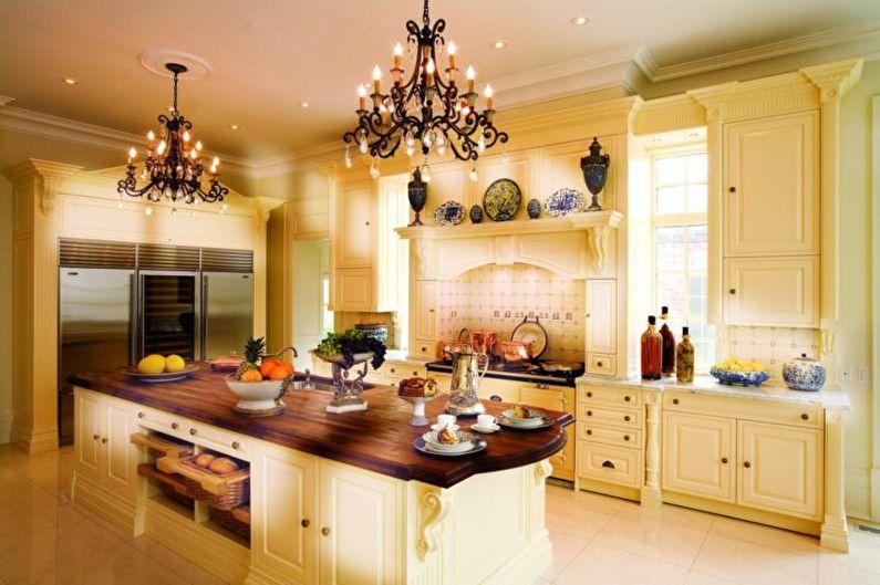 Lustre pour la cuisine - photo