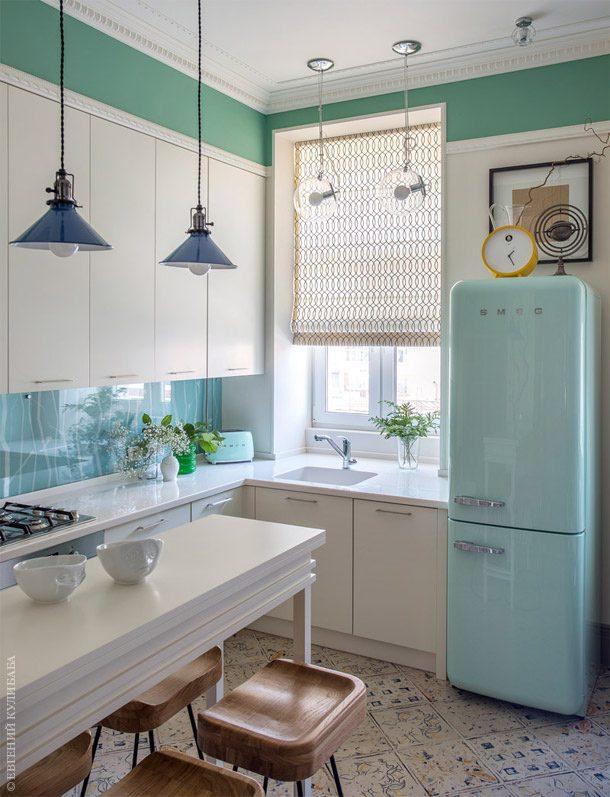 réfrigérateur à la menthe