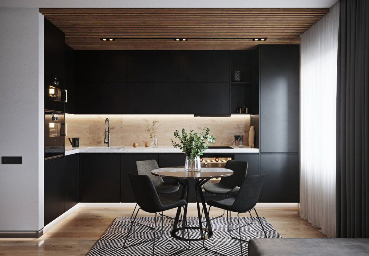 belle cuisine noire