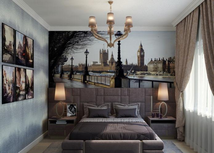 Peinture représentant Londres à l'intérieur