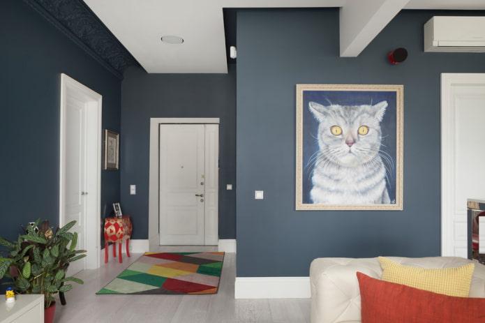 photo d & # 39; un chat à l & # 39; intérieur