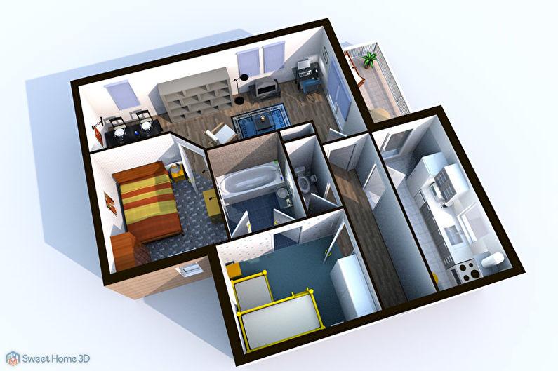 Sweet Home 3D - Logiciel gratuit pour la décoration intérieure