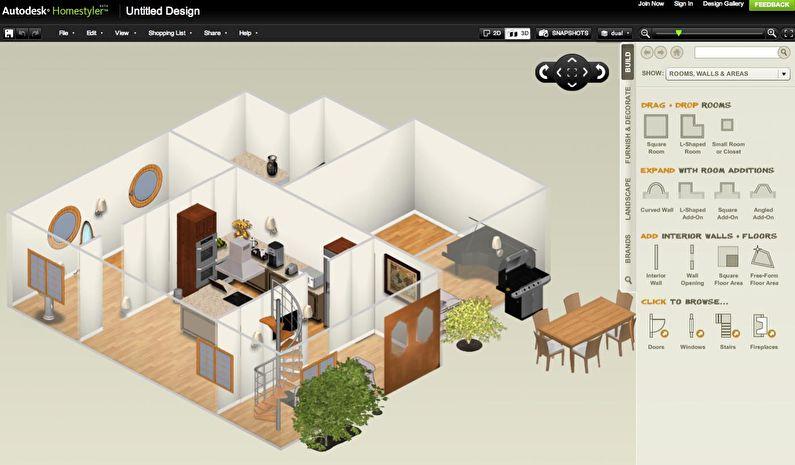 Homestyler - Logiciel de design d'intérieur gratuit