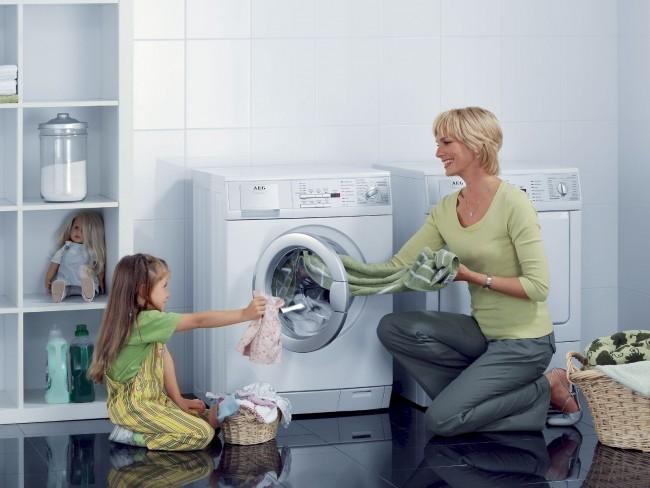 Nettoyage extérieur de la machine à laver