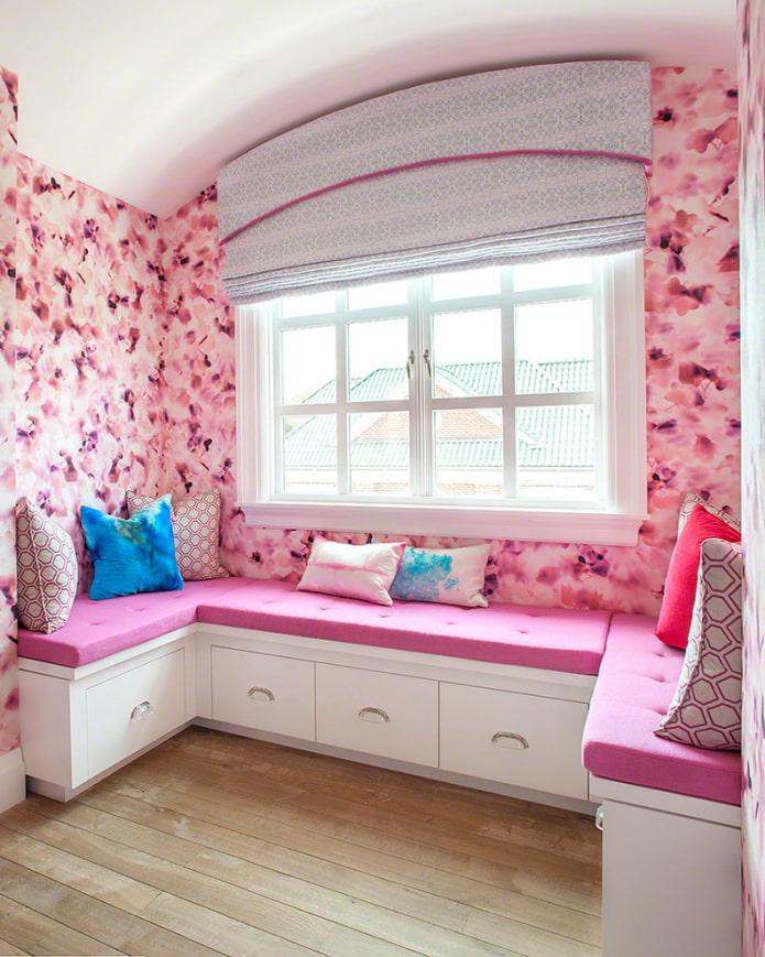 papier peint avec des fleurs