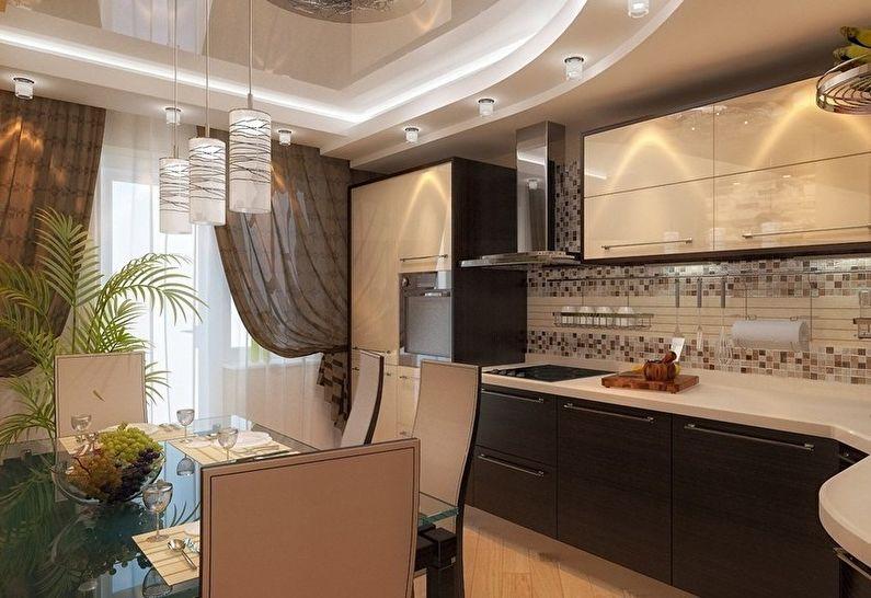 Rideaux pour la cuisine dans un style moderne