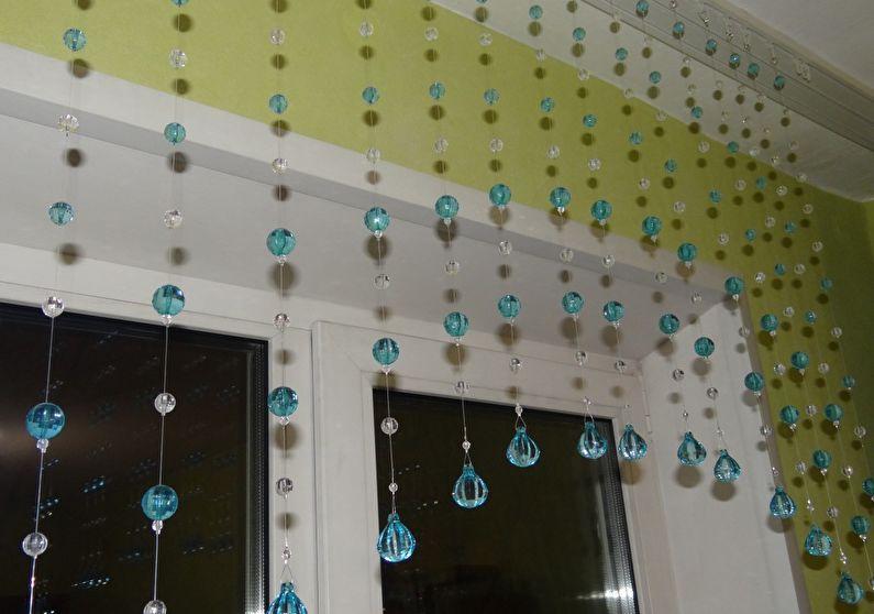 Rideaux de perles pour la cuisine