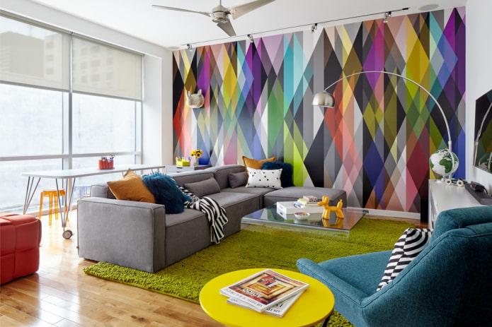 abstraction sur les murs