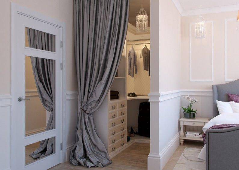 Dressing dans la chambre - Design d'intérieur
