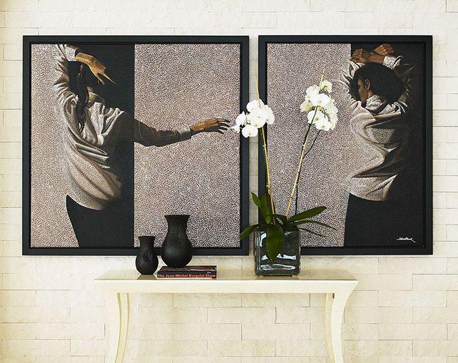 Vous pouvez mettre votre peinture préférée dans un cadre sombre - et l'art brillera d'une nouvelle manière