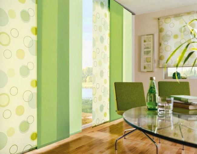 Les rideaux lumineux ajoutent de la couleur à votre intérieur