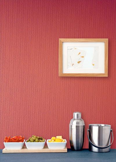 tapis en fibre de verre rouge
