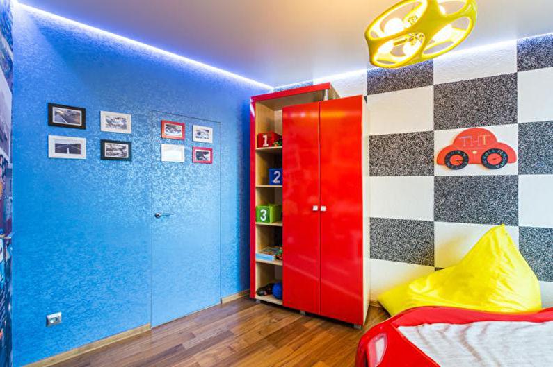 Papier peint liquide pour une chambre d'enfants