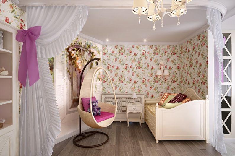 Papier peint textile pour une chambre d'enfants