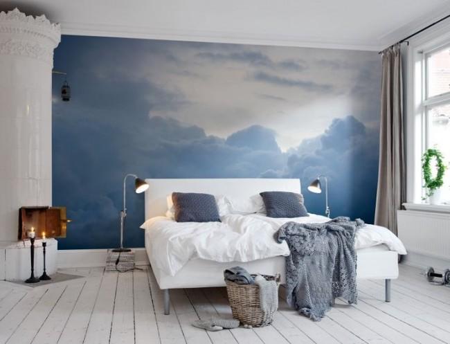 Pour la chambre, il vaut mieux choisir des motifs calmes.