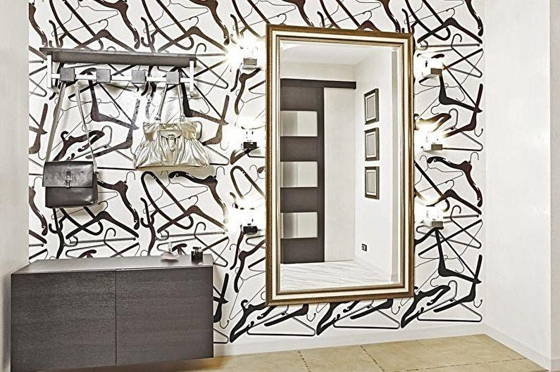 Papier peint en papier de couloir