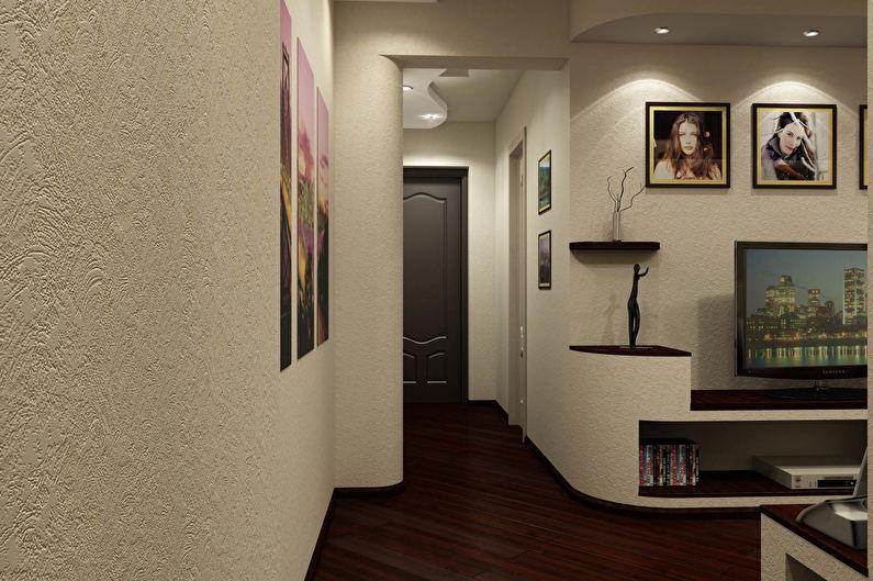 Papier peint intissé pour le couloir