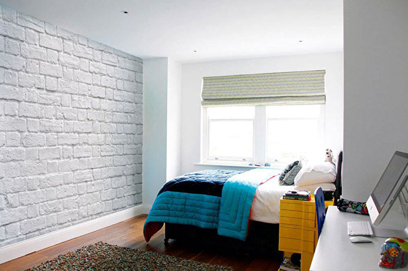 Papier peint en brique - Types de papier peint