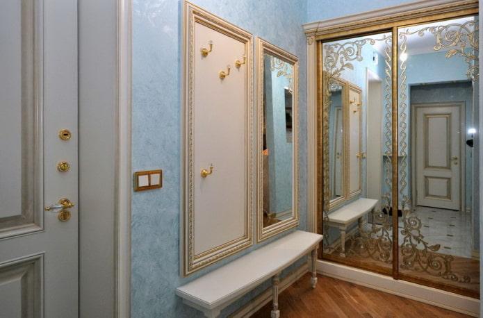 Armoire de toilette avec motifs