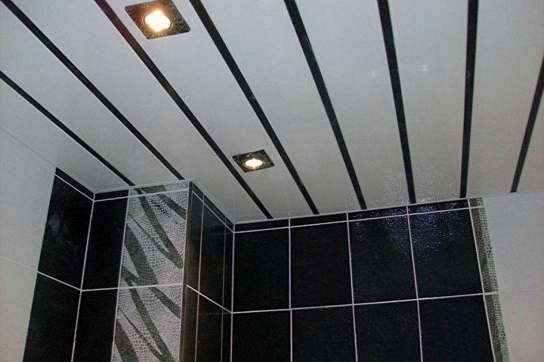Types de panneaux en plastique pour la salle de bain - En fonction de la taille et des méthodes de fixation