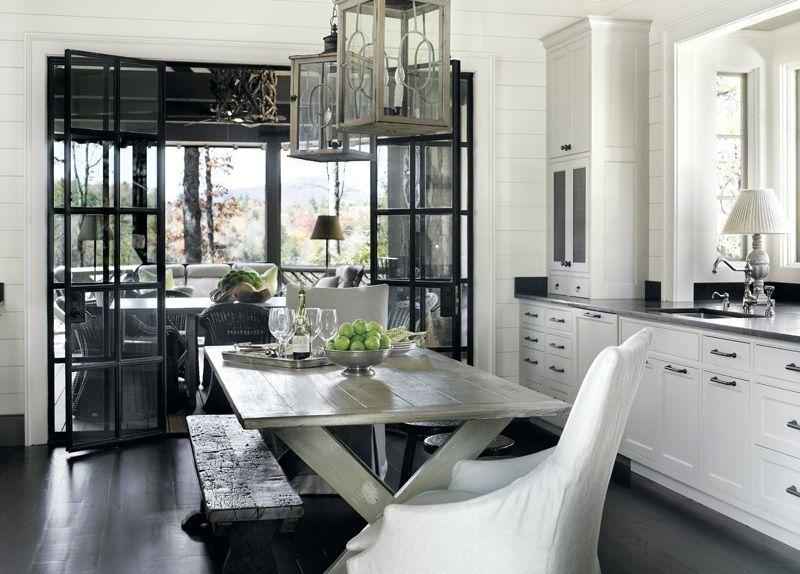 Commodité d'une cuisine dans une maison privée - l'utilisation d'un espace supplémentaire