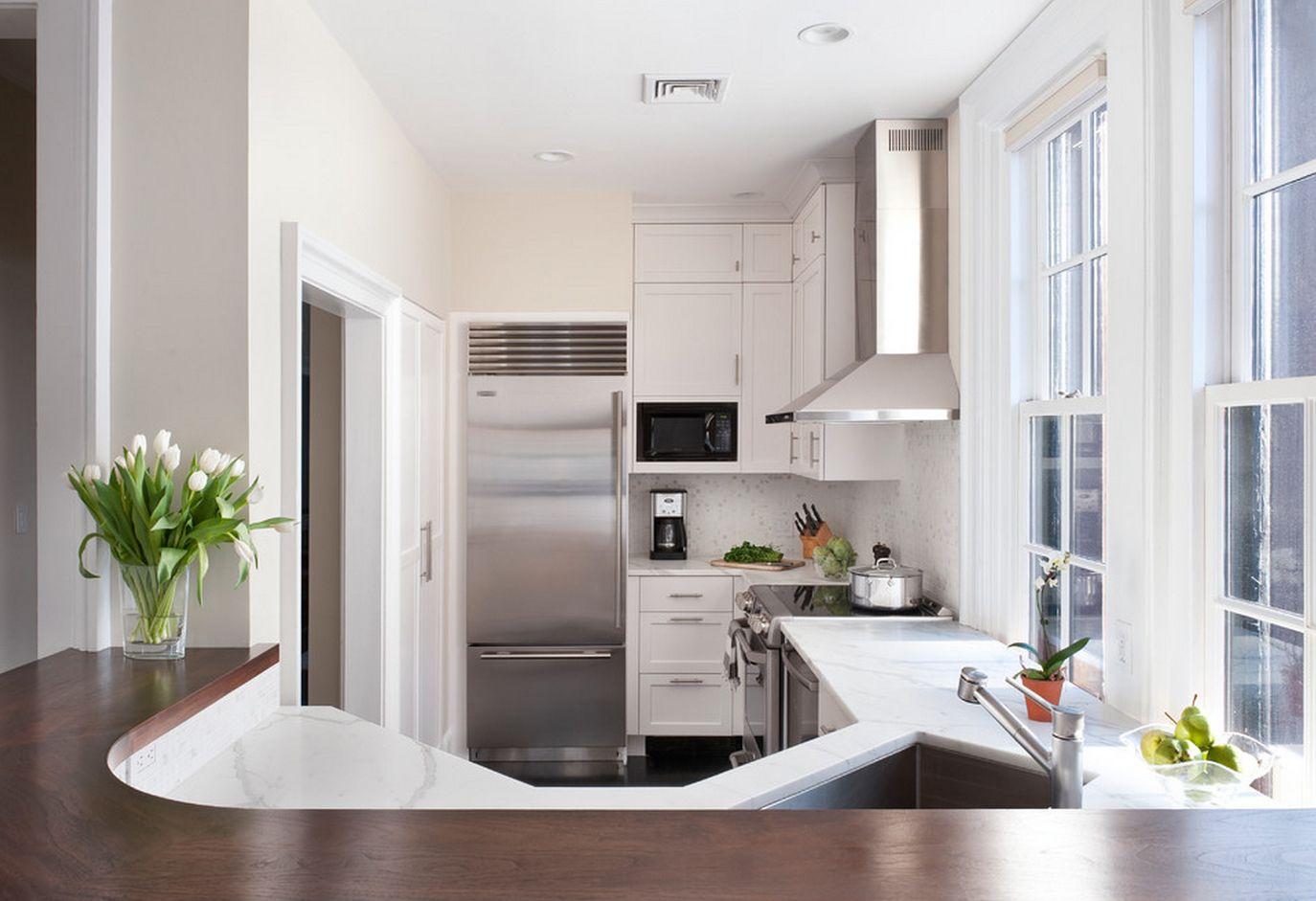 Utiliser un comptoir de bar dans une petite cuisine