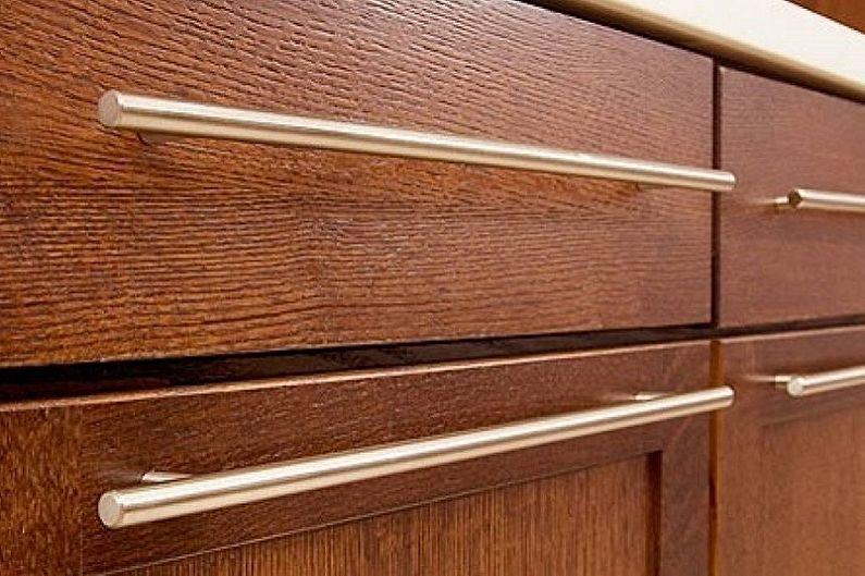 Poignées de garde-corps pour meubles de cuisine