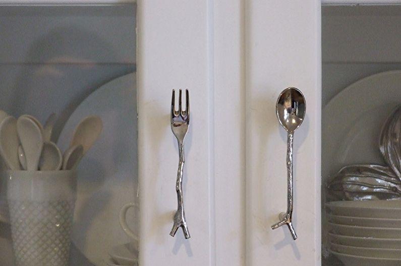 Types de poignées de cuisine - Types de poignées personnalisées