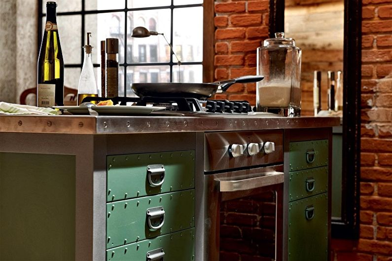 Poignées de meubles de cuisine - photo