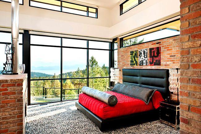 Tête de lit en cuir - une façon pratique et élégante de décorer votre chambre
