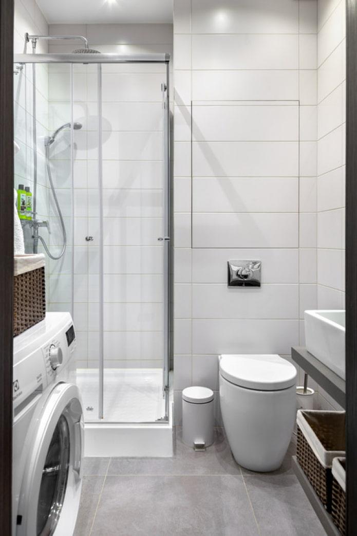 WC avec réservoir intégré