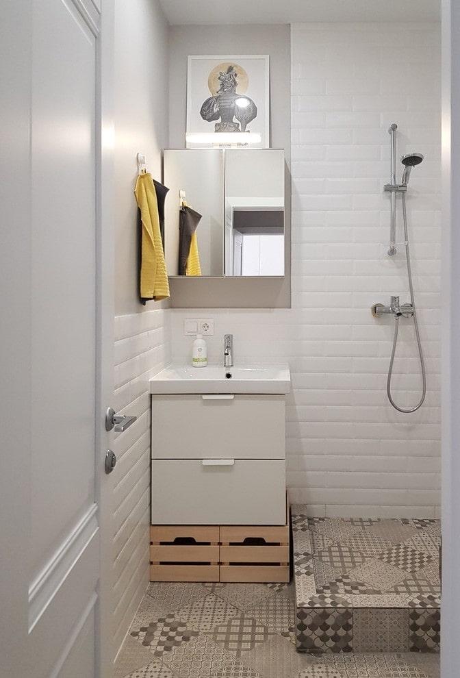meuble sous-vasque compact avec évier