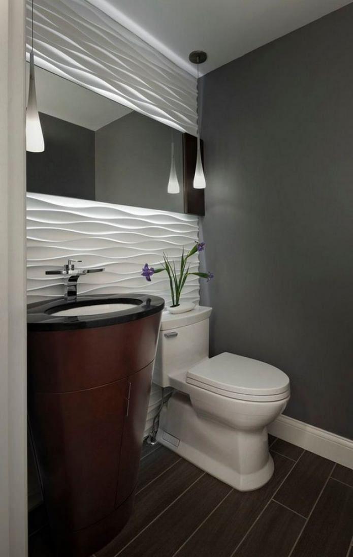 Carrelage de sol de toilette