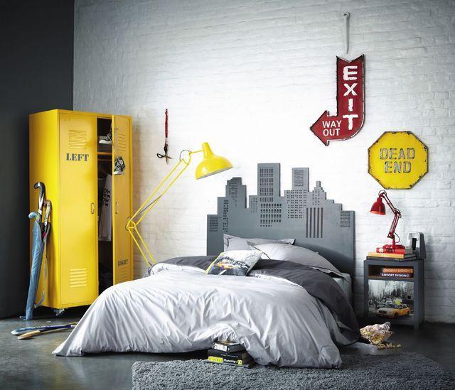 La chambre d'un adolescent est avant tout une émeute, de la créativité et une application à l'individualité!